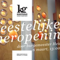 OFFICIAL RE-OPENING KUNSTGOUD